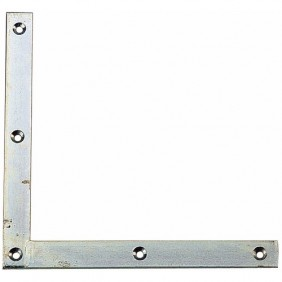 Équerre de renfort en acier carré à bouts carrés BURGAUD