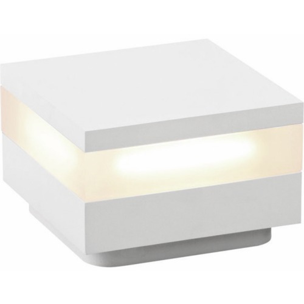 Borne clairage ext rieur led upper oggi luce bricozor for Led eclairage exterieur