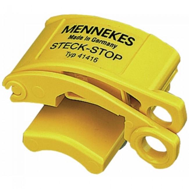 Système de cadenassage - protection risques électriques - Steck-Stop MENNEKES