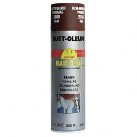 Primaire antirouille aérosol Hard Hat 500 ml RUST-OLEUM