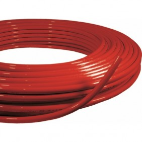 Tube multicouche PE-RT/AL/PE-RT rouge - En couronne MULTITUBO