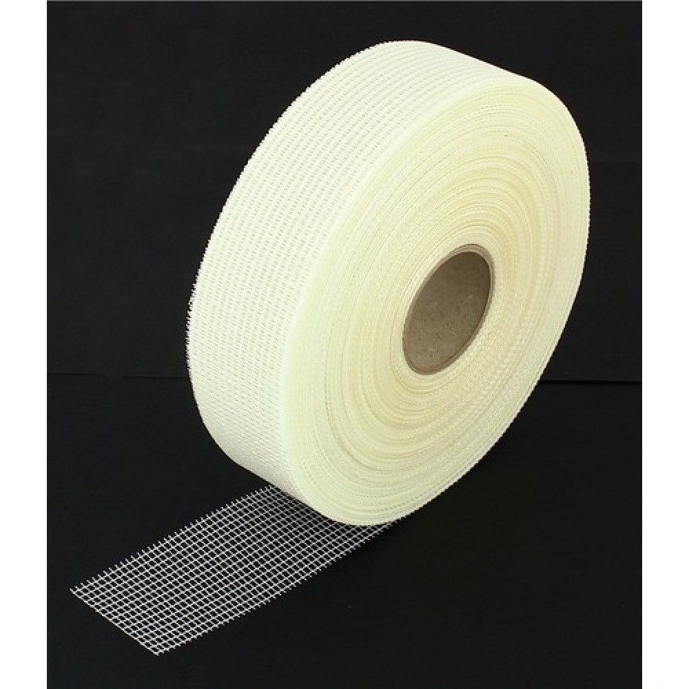 bande à joint pour plaque de plâtre - fibre de verre adhésive - 153