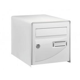 Boîte aux lettres - porte emboutie rigide - goulotte antivol - Probat DECAYEUX