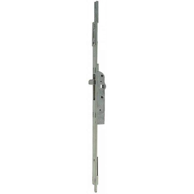 Crémone F15 pour fenêtre 2 vantaux - têtière de 16 mm - axe 15 mm FERCO