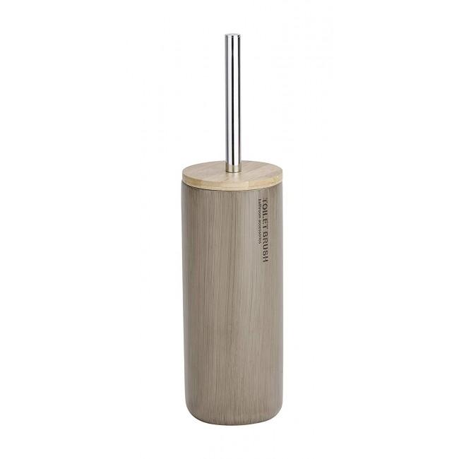 Brosse WC à poser - Palo - Polyrésine et bambou WENKO