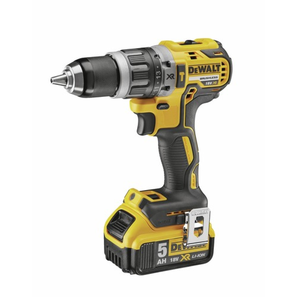 Perceuse visseuse sans fil 18 v 5ah dcd796p2 dewalt bricozor for Comparatif perceuse visseuse sans fil