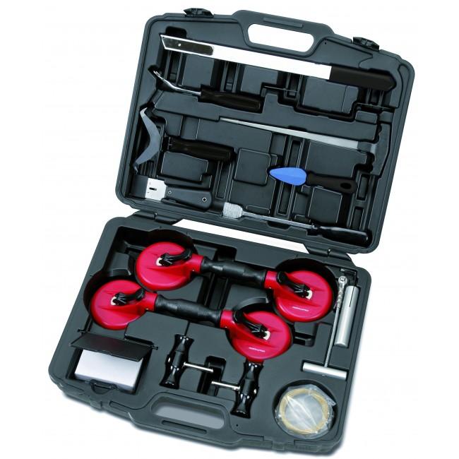 Coffret outils démontage pare brise et lunettes arrières - 20 pièces KRAFTWERK