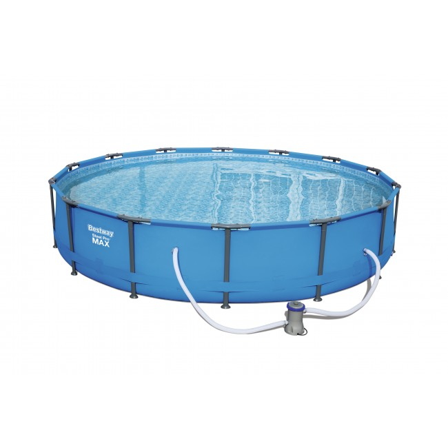 Piscine tubulaire ronde - 427x84cm - Steel Pro Max Pools BESTWAY