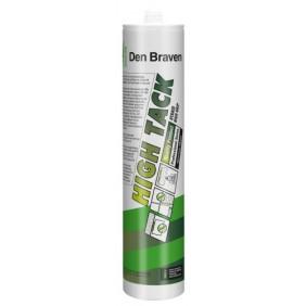 Mastic-colle hybride - adhérence élevée - cartouche 290 ml - High Tack DEN BRAVEN