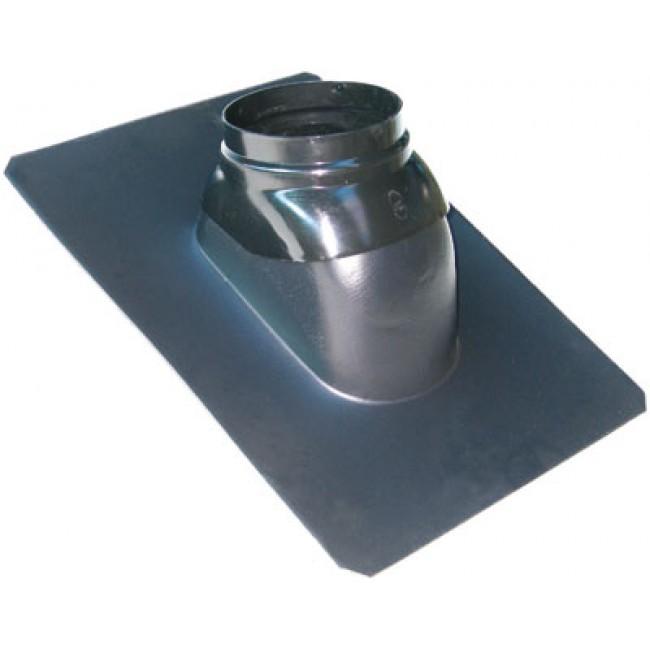 Solin pour toiture ardoise - chaudière à ventouse - pente 25° à 45° TEN