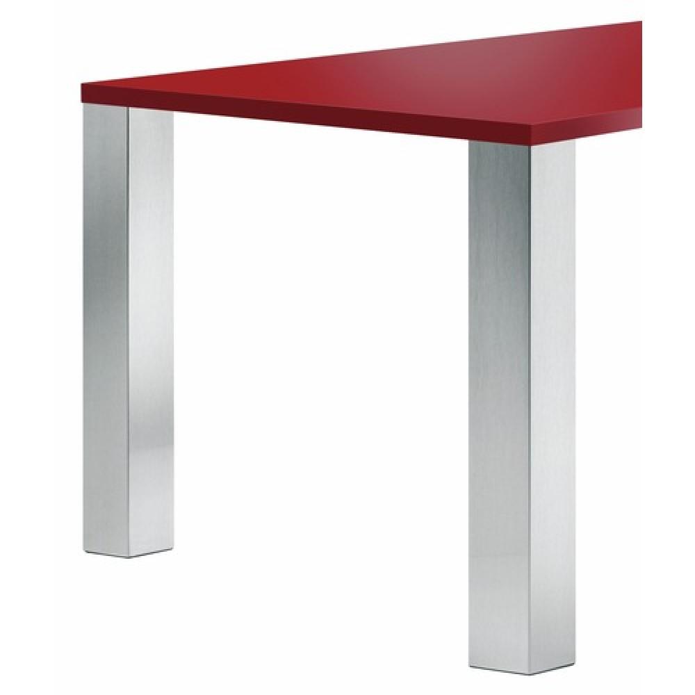 Pied De Table Alu.Pieds De Table En Aluminium Carre 100x100 Mm Quadra 641