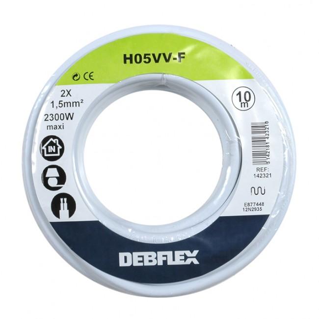 Câble souple HO5VV-F DEBFLEX
