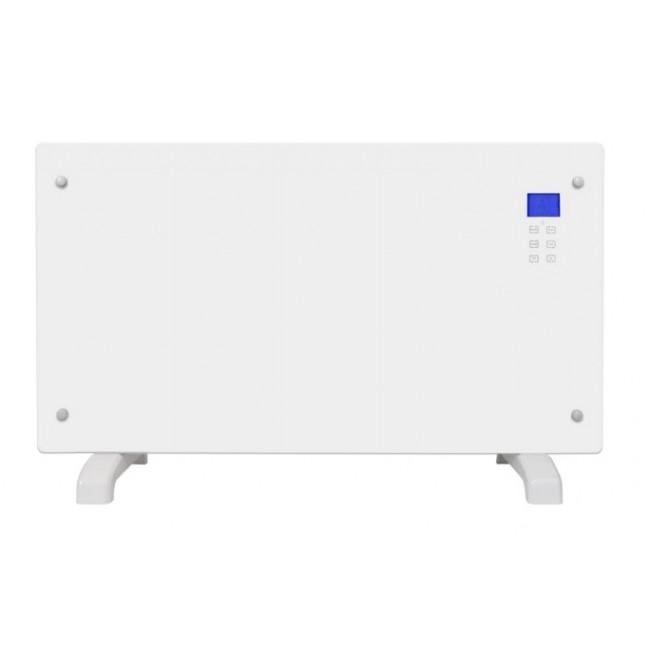 Radiateur blanc ou noir design - avec écran LCD - 2000 W CHEMIN' ARTE