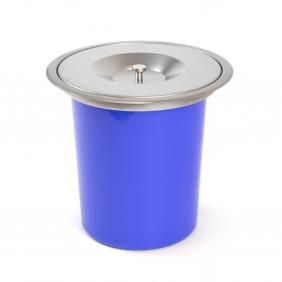 Poubelle encastrable pour plan de travail de cuisine-capacité 8 litres EMUCA