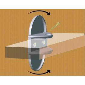 Taquets mâchoire pour tablette bois 18-19mm PRUNIER