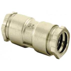 Jonction laiton à serrage extérieur pour tube PE HUOT