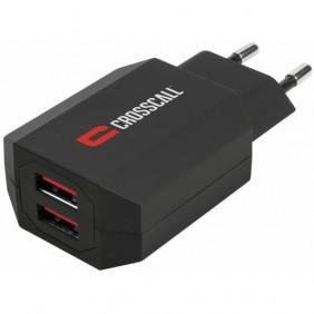 Chargeur secteur double USB CROSSCALL