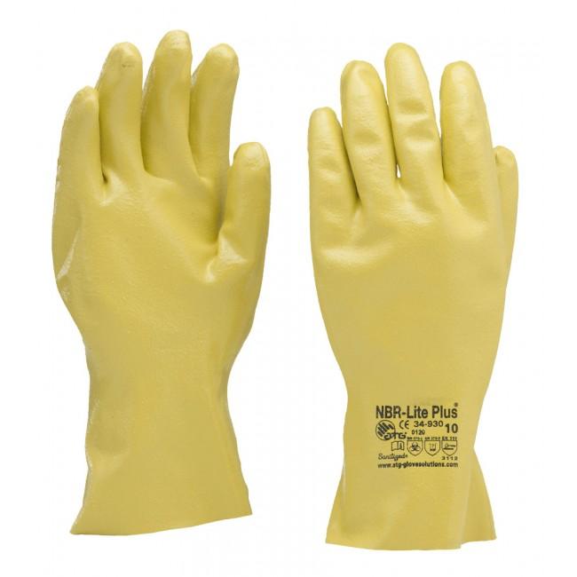 Gant de protection nitrile NBRLITE 34-930 ATG