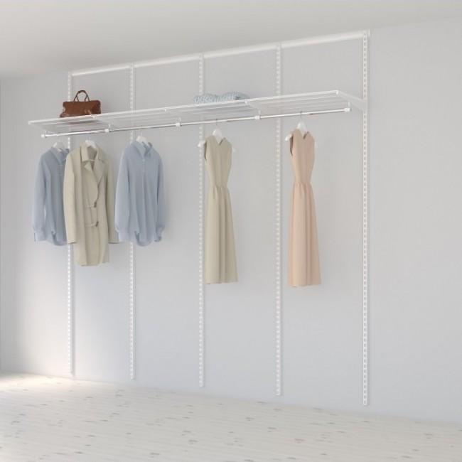 Kit dressing Basique - L240xP40 cm - blanc ELFA