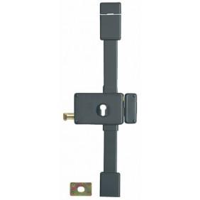 Serrure en applique horizontale 3 points à tirage et cylindre - Horga FTH THIRARD