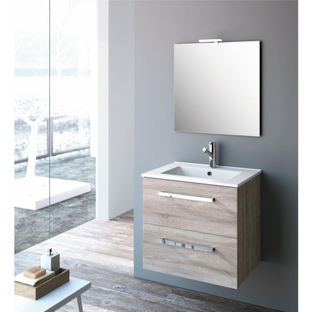 meuble de salle de bain ch ne caledonia studio kit comfort cygnus bath bricozor. Black Bedroom Furniture Sets. Home Design Ideas