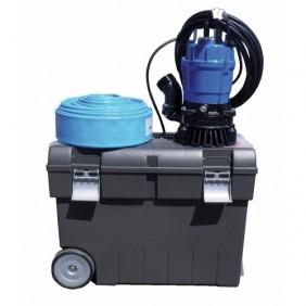 Kit d'intervention pompe de chantier + tuyau + coffre - HS2-4S JETLY