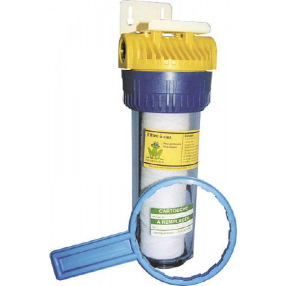 Filtre anti boues et anti particules f34c polar bricozor - Filtre pour eau potable pour robinet ...