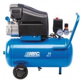 Compresseur d'air à piston lubrifié - 24 litres 2 CV - PolePositionL20 ABAC