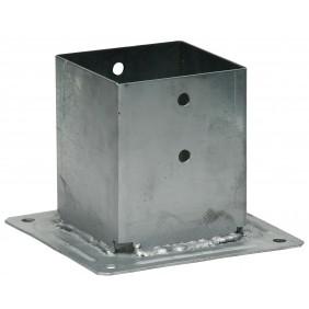 Pied de poteau carré sur platine - PPJBT SIMPSON Strong-Tie