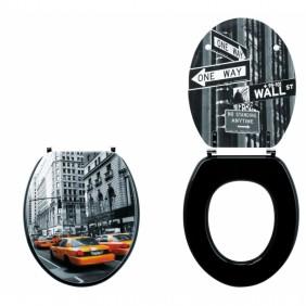 Abattant wc - sur cuvette standard - City Trendy Line WIRQUIN PRO