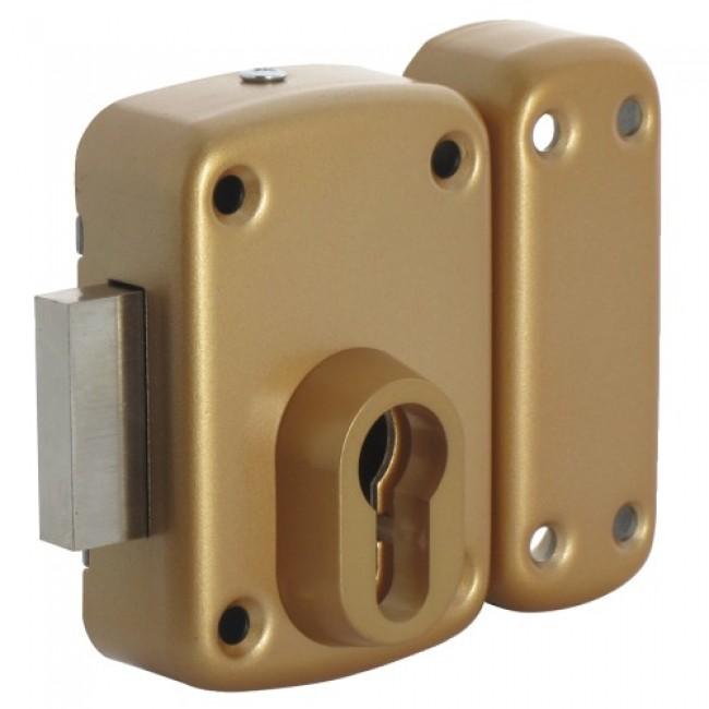 Verrou en applique - pour cylindre européen - Arnov ISEO
