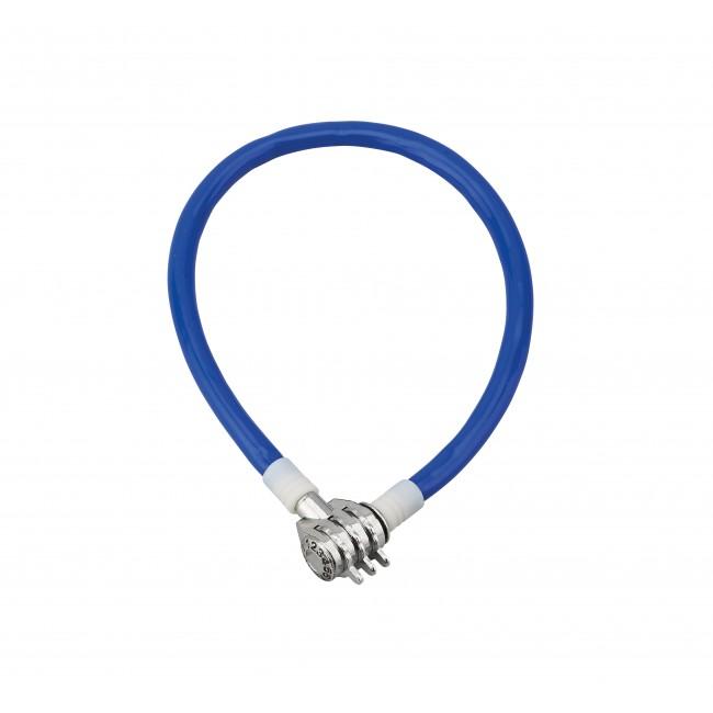Antivol à câble acier - gainé PVC - à combinaison - Twisty FTH THIRARD