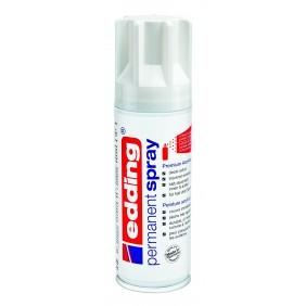 Spray peinture acrylique edding e5200 blanc trafic brillant RAL9016 EDDING