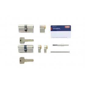Lot de 2 cylindres s'entrouvrant - modulable - Bravus 1000 modular MX ABUS