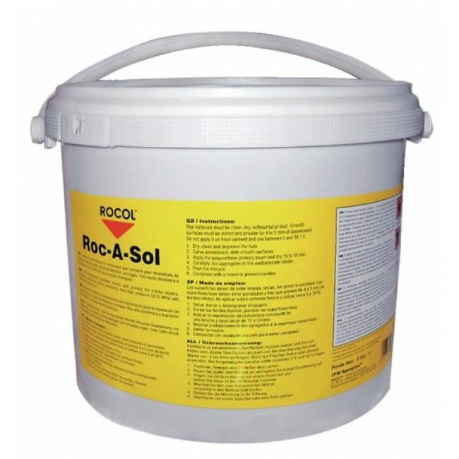 Mortier synthétique - à froid - bicomposant - 5 kg - ROC A SOL ROCOL
