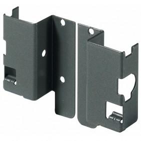 Raccords arrière pour parois en bois/aluminium-H 54mm-anthracite HETTICH