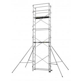 Échafaudage aluminium - hauteur de travail 6,70 m - Speed'UP XL CENTAURE