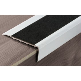 Nez de marche avec bande antidérapante - aluminium anodisé - ISBA B11 DINAC