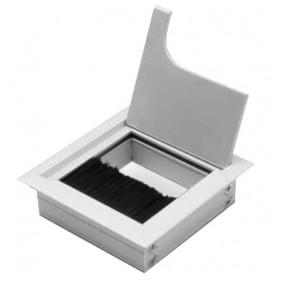 Passe-câble métallique - carré GTV