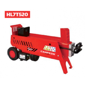 Fendeur de bûches horizontal 2300 watts - 7 tonnes - HL7T520 CAMPEON