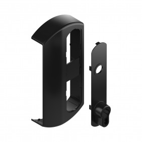 Habillage pour serrure en applique - ABS - Modulox GB TIRARD