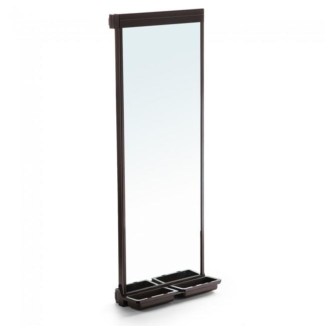 Miroir extractible pour l'intérieur de l'armoire Moka EMUCA