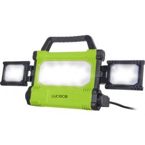 Projecteur de chantier LED - pliable - filaire LUCECO
