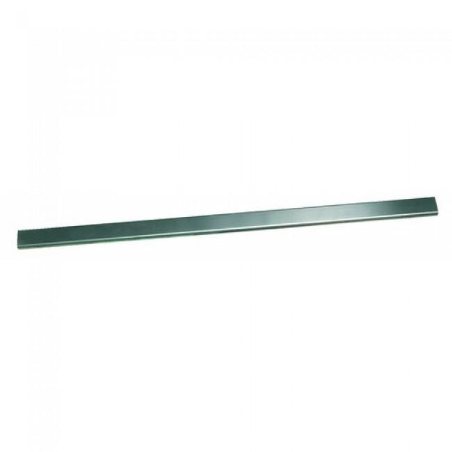 Barrette en inox pour receveur Panodur Linéal - largeur 90 cm