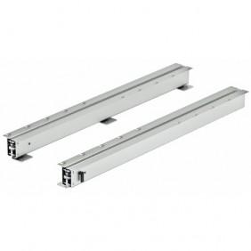 Rail pour table téléscopique pour 3 rallonges - largeur 500 mm