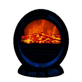 Cheminée électrique - noire - 1500 W ALICE DREXON