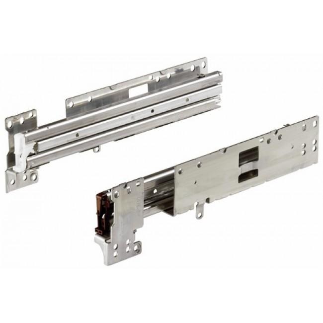 Coulisses Quadro Duplex 60 pour armoire Systema Top 2000 HETTICH