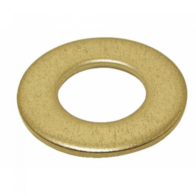 Rondelles plates - série moyenne - Mu laiton BRICOZOR