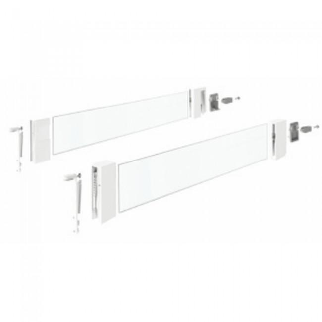 Parois latérales DesignSide pour tiroirs InnoTech Atira-blanc HETTICH