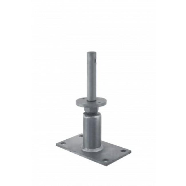 Pied de poteau tubulaire réglable - forte charge - PGS24/130 SIMPSON Strong-Tie